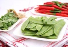Sugar beans Stock Photo