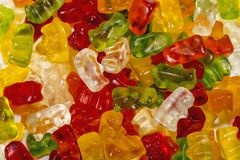 Sugar bears colors Royalty Free Stock Photography