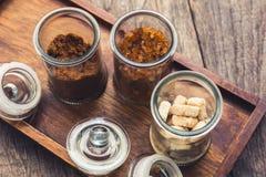 Sugar Bottles Stock Photo