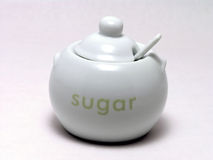 Sugar bowl 1 Royalty Free Stock Photography