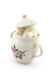 Sugar bowl Royalty Free Stock Images