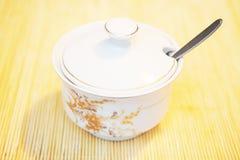Sugar bowl Stock Images