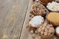 Sugar in a bowl Stock Photos