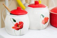 Sugar Bowls Stock Image