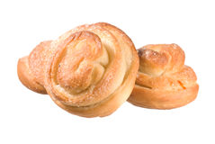 Sugar buns Stock Images
