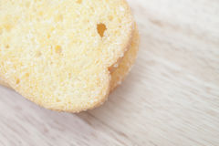 Sugar Butter Toast Close up Royalty Free Stock Images