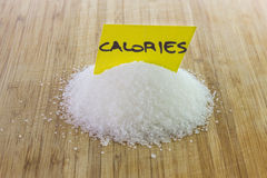 Sugar, calories concept Royalty Free Stock Photography