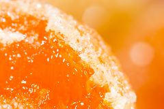 Sugar candy. close-up. Photo of an abstract texture Stock Image