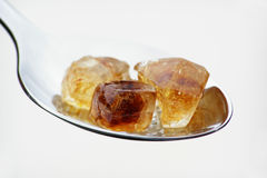 Sugar candy cubes stock photo