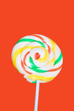 Sugar candy on a stick Royalty Free Stock Photography