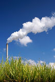 Sugar Cane Bio-fuel Factory Stock Photos