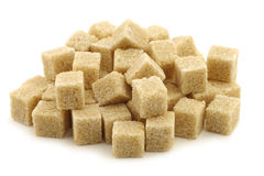 Sugar cane cubes Royalty Free Stock Photography
