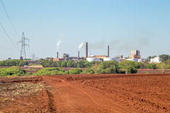 Sugar Cane Industry Fotografía de archivo