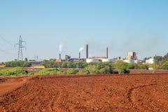 Sugar Cane Industry royalty-vrije stock foto