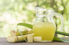 Sugar cane juice Stock Images