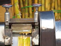 Sugar Cane Juice Press Royalty Free Stock Photo