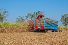 Sugar Cane Machine, Sugar Cane Machine em Tailândia Fotografia de Stock Royalty Free
