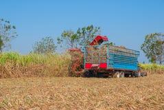 Sugar Cane Machine, Sugar Cane Machine in Tailandia Fotografia Stock