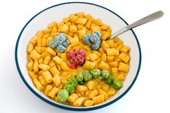 Sugar cereal Stock Photo