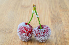 Sugar cherries Royalty Free Stock Images