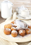 Sugar and cinnamon fritters Stock Photography