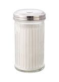 Sugar (with clipping path). Sugar in dispenser isolated with a clipping path. Isolation is on a transparent layer in the PNG format stock image