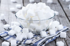 Sugar (close-up shot) Stock Photography