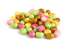 Sugar coated candies Royalty Free Stock Images