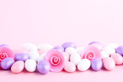 Sugar coated candy Stock Images