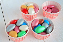 Sugar coated candy Stock Image