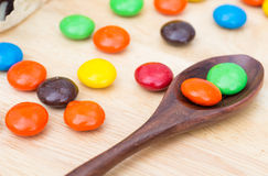 Sugar coated chocolate Royalty Free Stock Photography