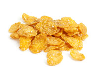 Sugar-coated corn flakes Royalty Free Stock Images