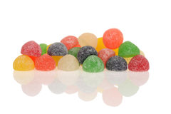 Sugar coated gum drops Stock Images