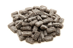 Sugar coated liquorice Royalty Free Stock Photography