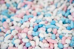 Sugar Coated Peanuts colorato Fotografia Stock Libera da Diritti