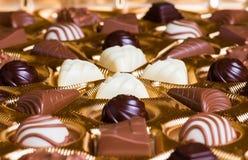Sugar-coated sötsaker Arkivbild