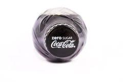 Sugar Coca Cola zéro Images libres de droits