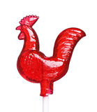 Sugar cockerel on a stick Royalty Free Stock Images