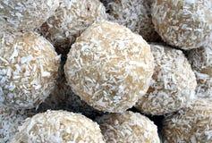 Sugar - Coconut Balls Stock Photography