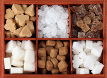 Sugar collection Stock Photography
