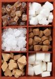 Sugar collection Stock Photos
