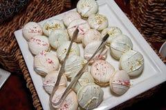 Sugar Confection Dessert Sweets Buffet Royaltyfria Foton