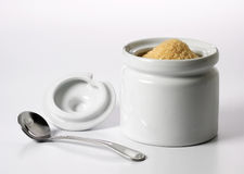Sugar container Stock Photo