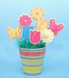 Sugar Cookie Bouquet Stock Photos