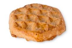 Sugar Cookie With Sprinkles Isolated en blanco Imagenes de archivo