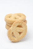 Sugar cookies closeup Royalty Free Stock Photography