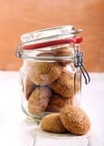 Sugar cookies in a jar Royalty Free Stock Photography