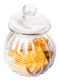Sugar Crackers In Cookie Jar V Foto de Stock Royalty Free