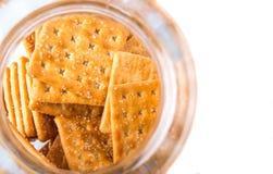 Sugar Crackers In Cookie Jar VI Imagem de Stock Royalty Free