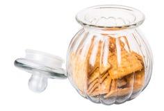 Sugar Crackers In Cookie Jar XI Imagem de Stock Royalty Free